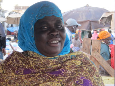 Khady Sarr, Secretary General of the GIE PARASE in Hann