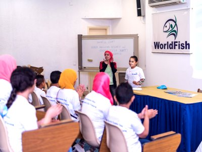 Introducing World Oceans Day and the principles of aquaculture to the kids