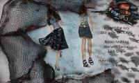 Nicola Mühling and Meryem Cavdar, HGH 11th grade, course Fashion and the sea,