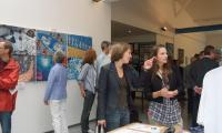 A moment of the vernissage