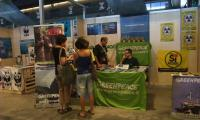Greenpeace Booth at Slow Fish 2011