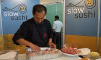 Slow Sushi at Slow Food 2011